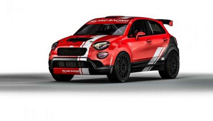 Fiat 500X da rally by Milano Racing e Oreca - Foto 1 di 5