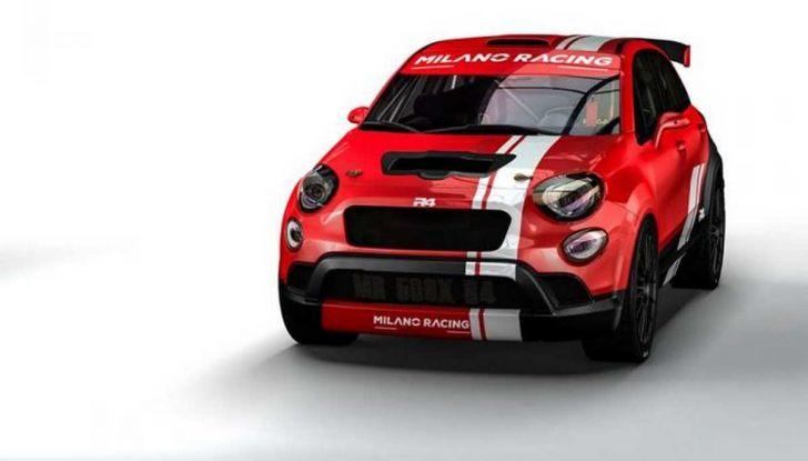 Fiat 500X da rally by Milano Racing e Oreca - Foto 5 di 5