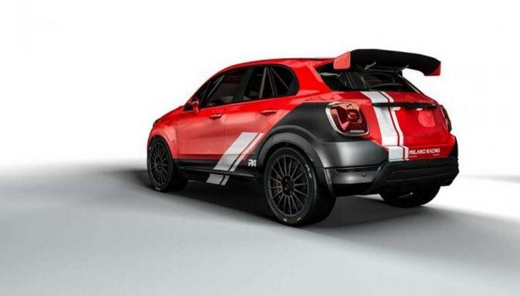 Fiat 500X da rally by Milano Racing e Oreca - Foto 3 di 5