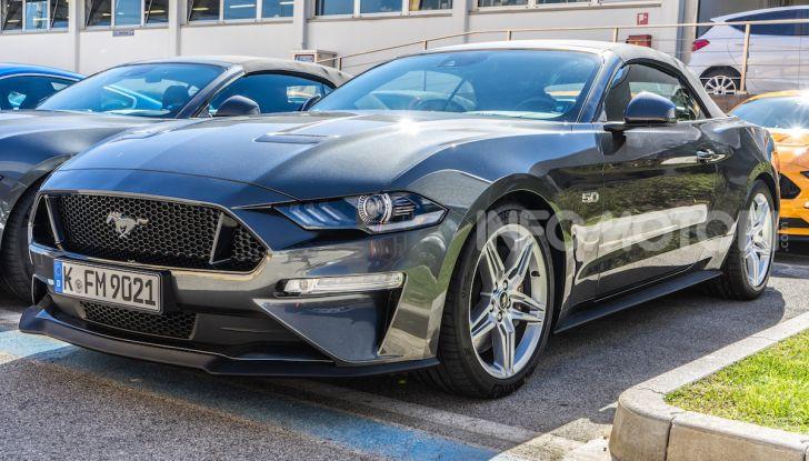 Al Lucca Comics 2018 la nuova Ford Mustang - Foto 12 di 27