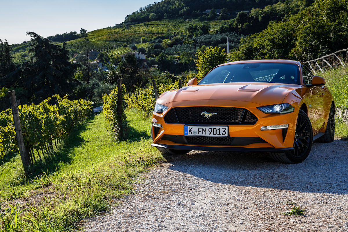 Ford Mustang GT 2018 Test