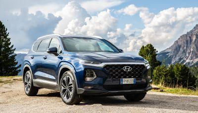 Prova nuova Hyundai Santa Fe 2018: il SUV con 4×4, 7 posti e 200CV