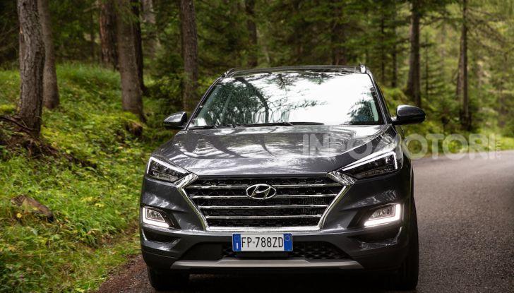 Nuova Hyundai Tucson 2018: Prova su strada del nuovo SUV Hi-Tech - Foto 3 di 18
