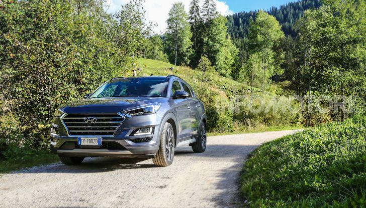 Nuova Hyundai Tucson 2018: Prova su strada del nuovo SUV Hi-Tech - Foto 1 di 18