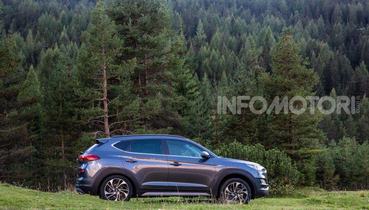 Nuova Hyundai Tucson 2018: Prova su strada del nuovo SUV Hi-Tech - Foto 8 di 18