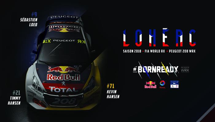 I commenti del Team Peugeot Total prima della gara di casa nel WRX - Foto 1 di 2