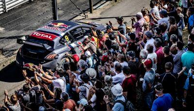 Gara di casa emozionante e spietata  per il Team Peugeot Total in Francia