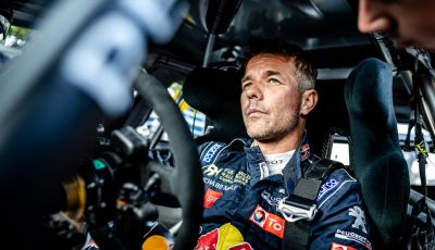 Voce al Team Peugeot Total dopo la gara di Loheac (WRX)