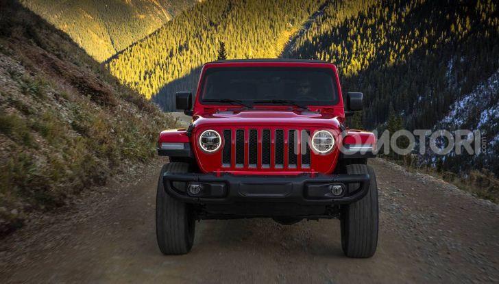 La nuova gamma Jeep 2018: evoluzione e tradizione - Foto 5 di 11
