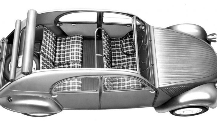 Le astuzie della Citroën 2CV: la capote - Foto 3 di 3