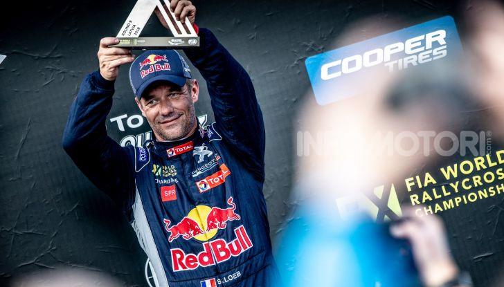 Nuovo podio per Sebastien Loeb  e Peugeot 208 WRX Evo a Riga - Foto 1 di 2