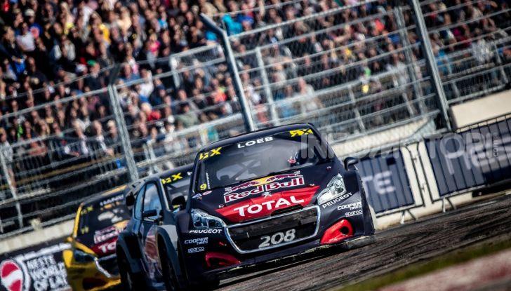 Nuovo podio per Sebastien Loeb  e Peugeot 208 WRX Evo a Riga - Foto 2 di 2