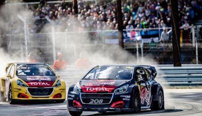 Voce a Sebastien Loeb (team Peugeot Total) 3° a Riga