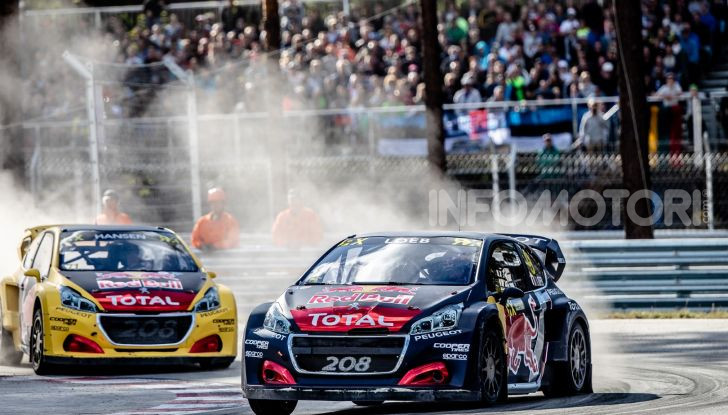Voce a Sebastien Loeb (team Peugeot Total) 3° a Riga - Foto  di