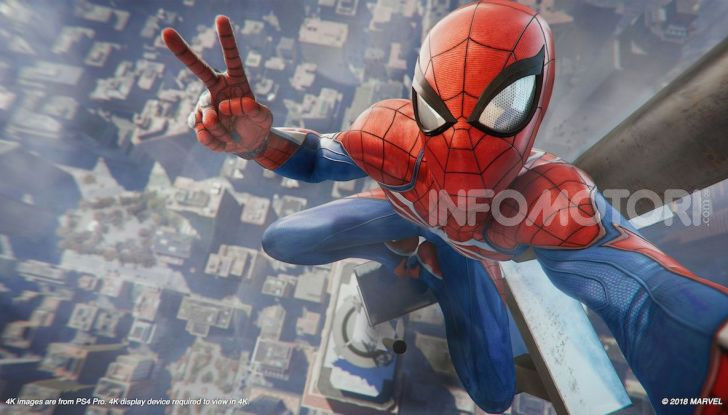 Spider-Man per PS4 a Milano: l'eroe Marvel salva un bus in Darsena - Foto 7 di 11