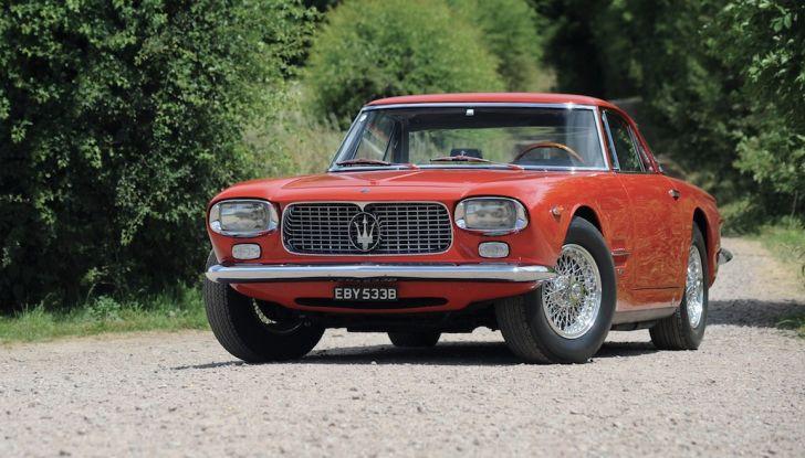 Maserati 5000 Allemano, da Little Tony agli Eagles per 1,3 milioni di Euro - Foto 2 di 17