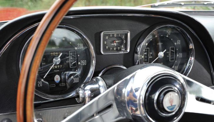 Maserati 5000 Allemano, da Little Tony agli Eagles per 1,3 milioni di Euro - Foto 7 di 17