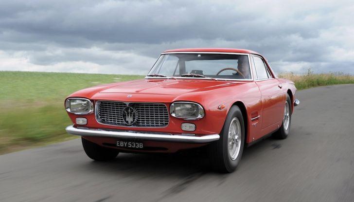Maserati 5000 Allemano, da Little Tony agli Eagles per 1,3 milioni di Euro - Foto 1 di 17