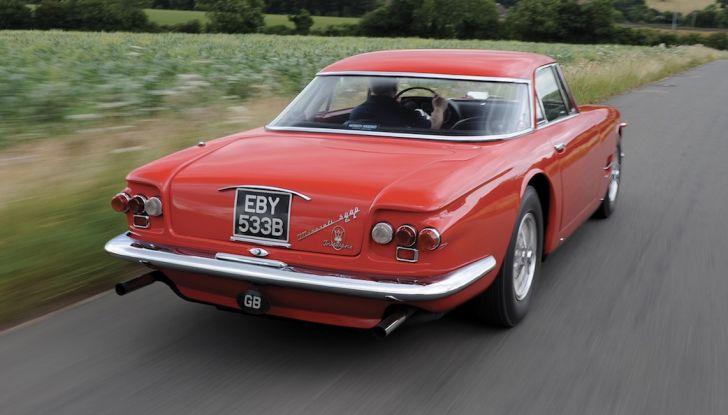 Maserati 5000 Allemano, da Little Tony agli Eagles per 1,3 milioni di Euro - Foto 17 di 17