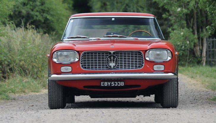 Maserati 5000 Allemano, da Little Tony agli Eagles per 1,3 milioni di Euro - Foto 8 di 17
