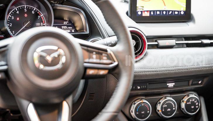 Prova nuova Mazda CX-3 2018: Stile, Diesel e guida sportiva! - Foto 14 di 37