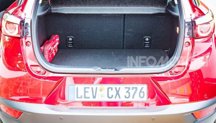 Prova nuova Mazda CX-3 2018: Stile, Diesel e guida sportiva! - Foto 26 di 37