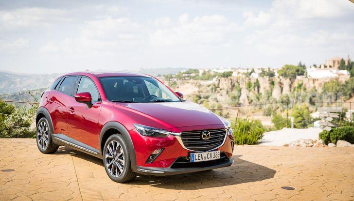 Prova nuova Mazda CX-3 2018: Stile, Diesel e guida sportiva! - Foto 6 di 37