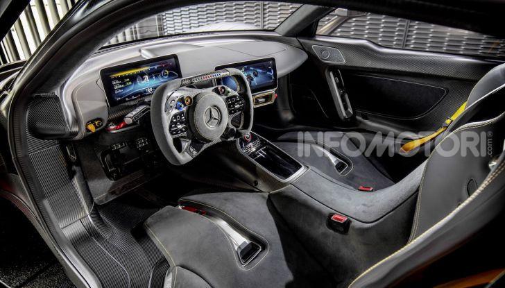 Mercedes-AMG ONE: La Hypercar da 1.000CV con motore da Formula 1 - Foto 3 di 7