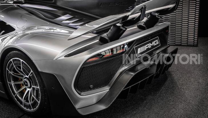 Mercedes-AMG ONE: La Hypercar da 1.000CV con motore da Formula 1 - Foto 5 di 7