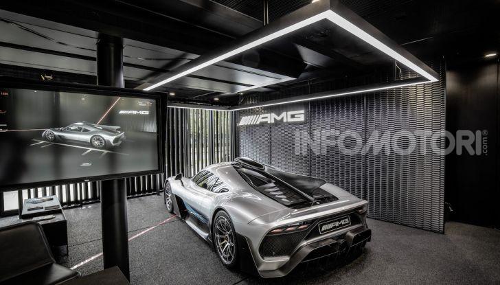Mercedes-AMG ONE: La Hypercar da 1.000CV con motore da Formula 1 - Foto 6 di 7