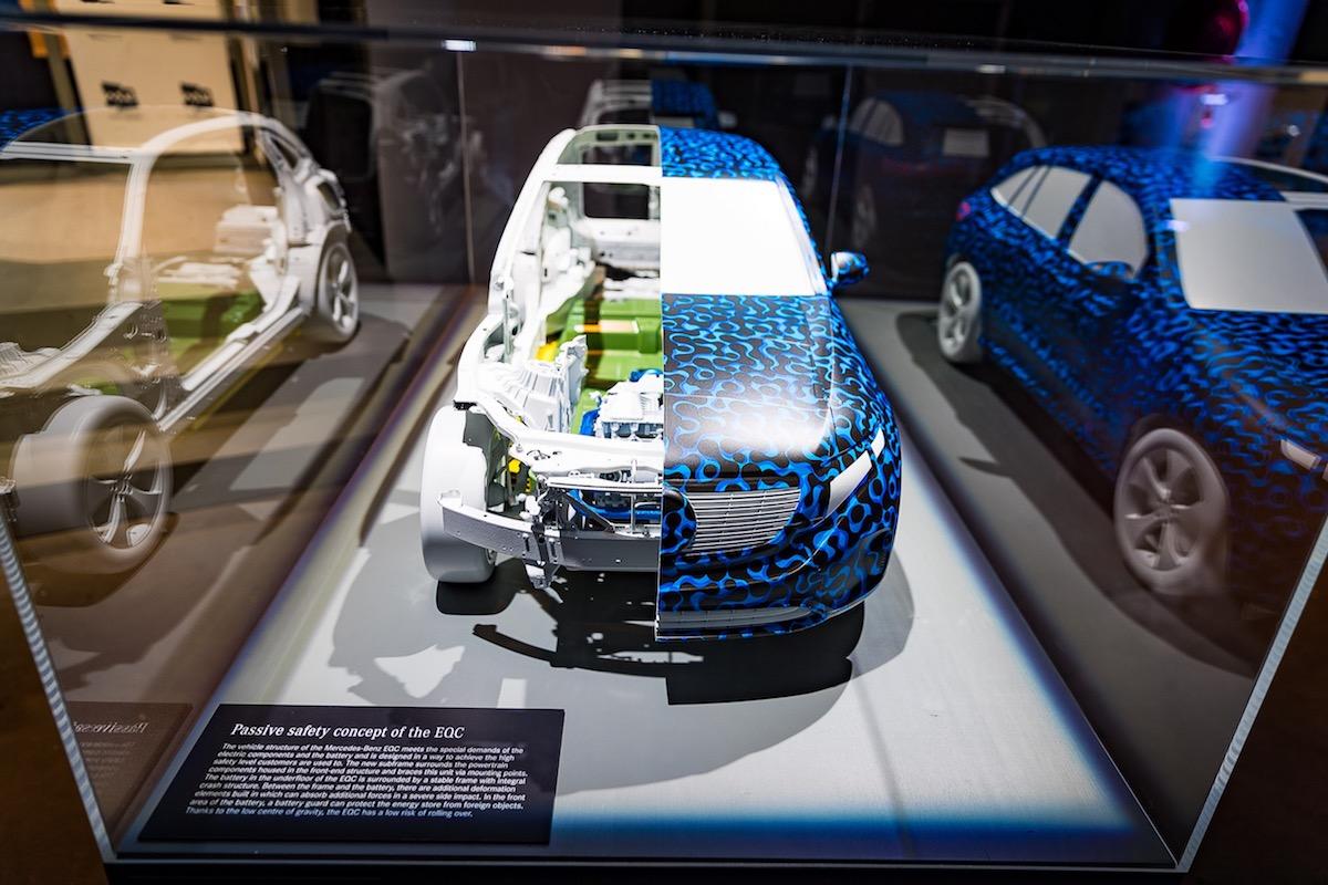 Mercedes Benz EQC Recherge