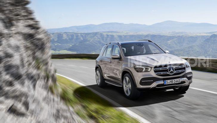 Mercedes-Benz GLE 2019: Nuovi motori, tecnologia di riferimento e comfort superlativo - Foto 2 di 38