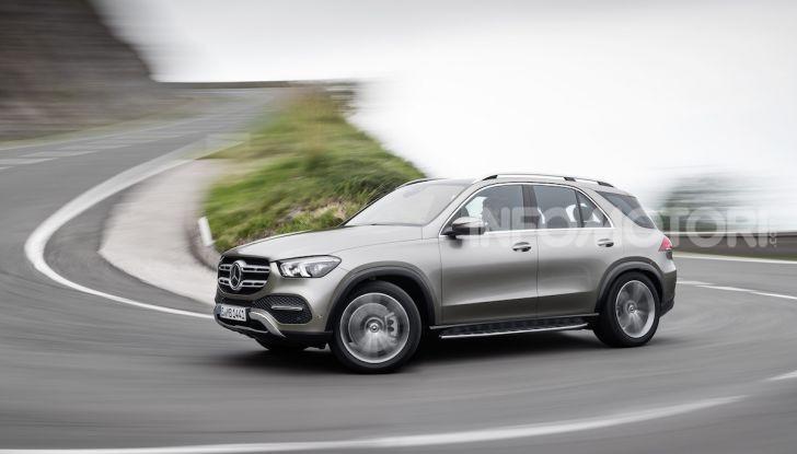 Mercedes-Benz GLE 2019: Nuovi motori, tecnologia di riferimento e comfort superlativo - Foto 13 di 38