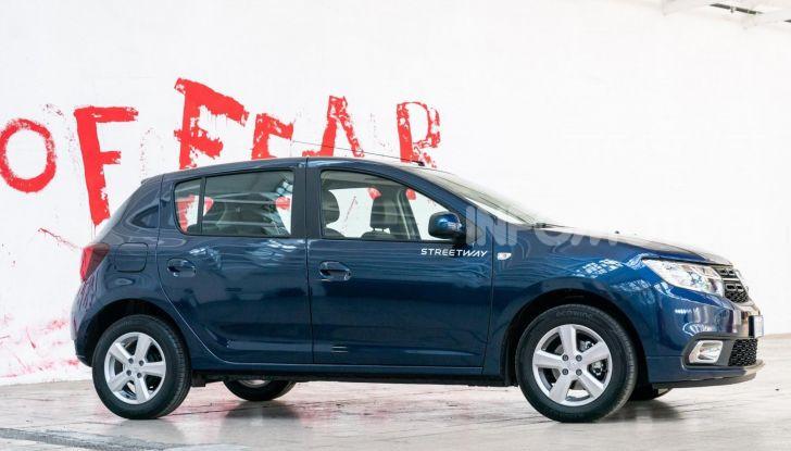 Nuova Dacia Sandero Streetway, prezzi da 7.450 euro - Foto 7 di 9