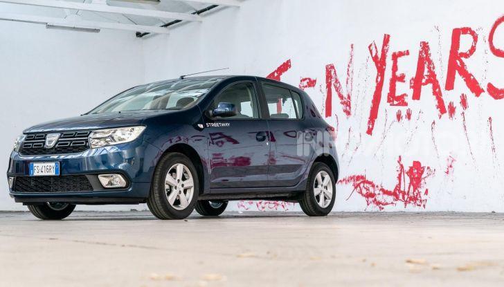 Nuova Dacia Sandero Streetway, prezzi da 7.450 euro - Foto 1 di 9
