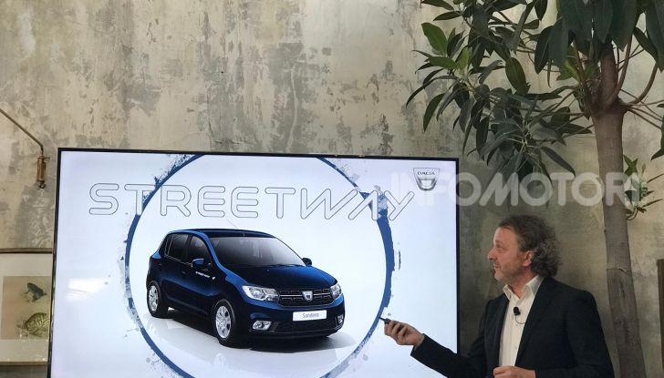 Nuova Dacia Sandero Streetway, prezzi da 7.450 euro - Foto 2 di 9
