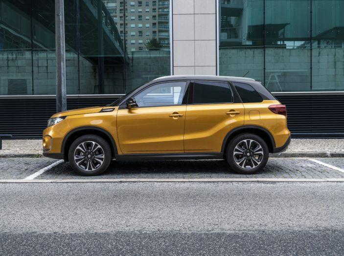 Nuova Suzuki Vitara con motore 1.0 Boosterjet da 112 CV