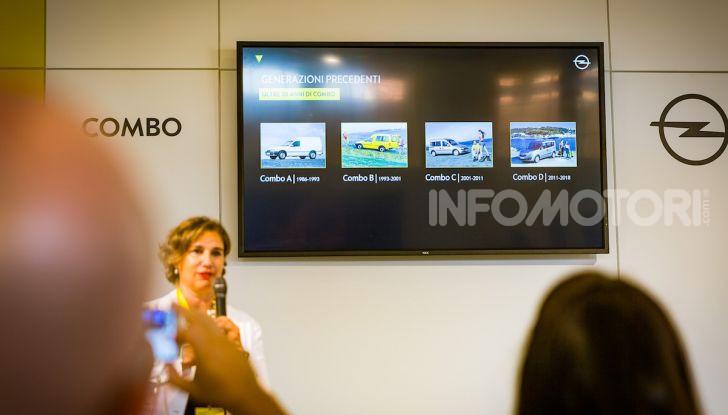 Opel Combo Life: tecnologia, sicurezza e spazio in abbondanza - Foto 15 di 37