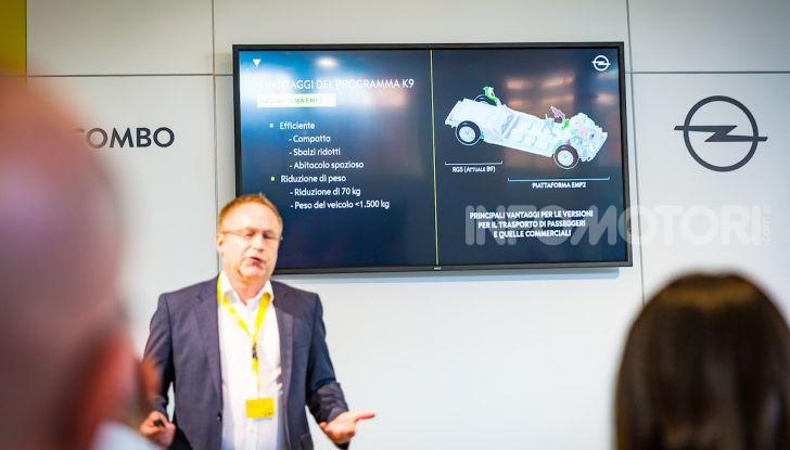 Opel Combo Life: tecnologia, sicurezza e spazio in abbondanza - Foto 18 di 37