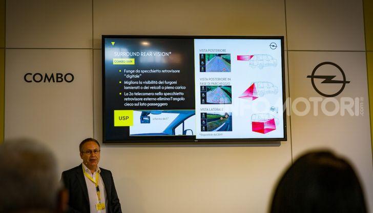 Opel Combo Life: tecnologia, sicurezza e spazio in abbondanza - Foto 22 di 37