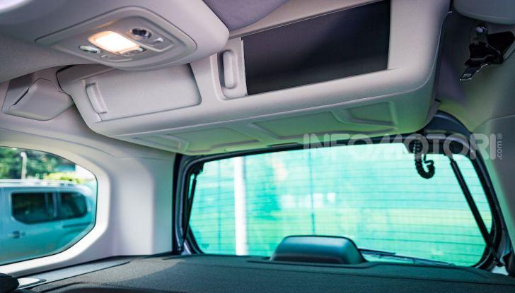 Opel Combo Life: tecnologia, sicurezza e spazio in abbondanza - Foto 32 di 37