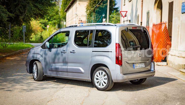 Opel Combo Life: tecnologia, sicurezza e spazio in abbondanza - Foto 34 di 37
