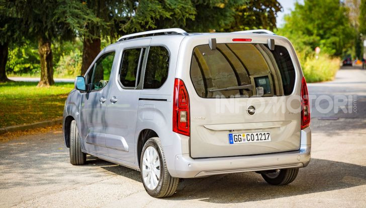 Opel Combo Life: tecnologia, sicurezza e spazio in abbondanza - Foto 35 di 37