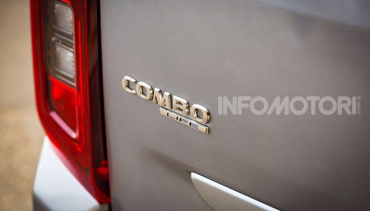 Opel Combo Life: tecnologia, sicurezza e spazio in abbondanza - Foto 37 di 37