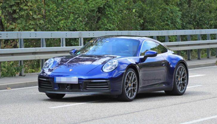 Porsche 911 992,la nuova generazione svelata in forma definitiva - Foto 12 di 30
