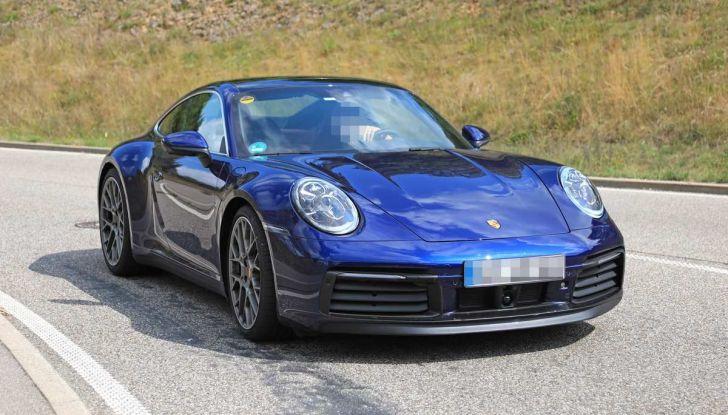 Porsche 911 992,la nuova generazione svelata in forma definitiva - Foto 22 di 30