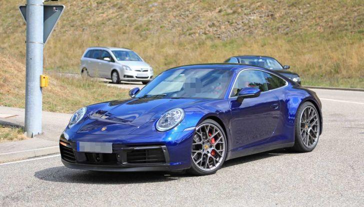 Porsche 911 992,la nuova generazione svelata in forma definitiva - Foto 28 di 30