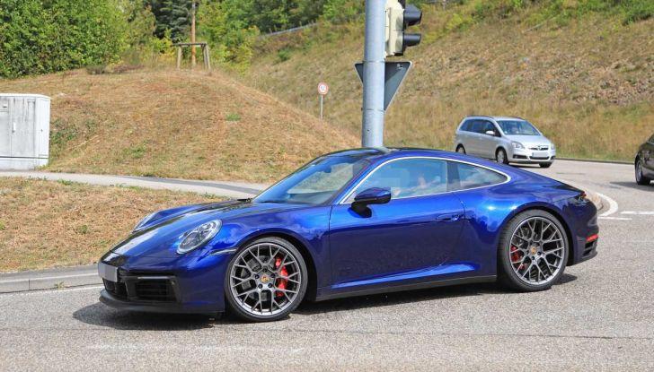 Porsche 911 992,la nuova generazione svelata in forma definitiva - Foto 29 di 30