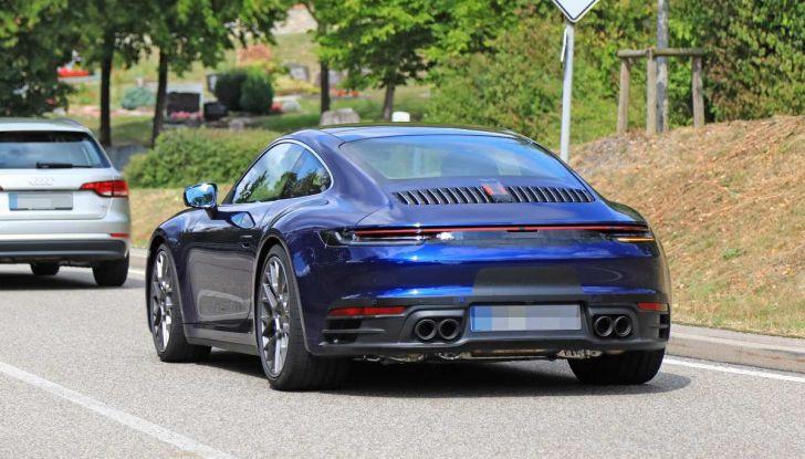 Porsche 911 992,la nuova generazione svelata in forma definitiva - Foto 4 di 30