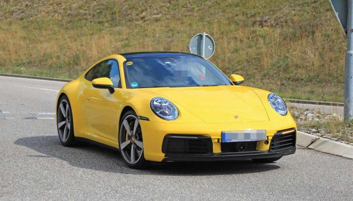Porsche 911 992,la nuova generazione svelata in forma definitiva - Foto 6 di 30